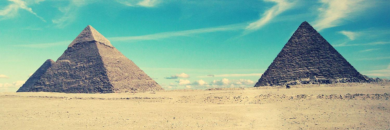 قالب زیبای اهرام مصر