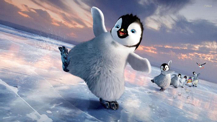 قالب زیبای بچه پنگوئن