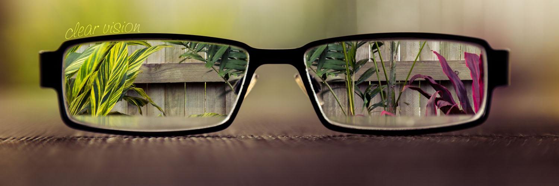 قالب زیبای عینک