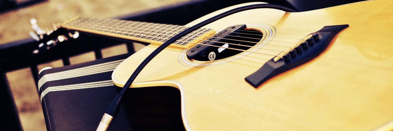 قالب زیبای گیتار