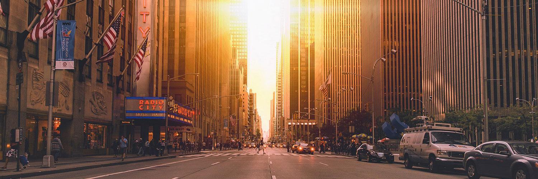 قالب زیبای شهر نیویورک