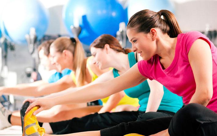 قالب زیبای ورزش زنان